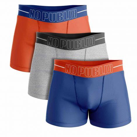 Lot de 3 boxers Trend Cascade #2-multicouleur-S