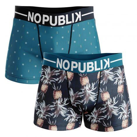 Lot de 2 boxers homme tropical
