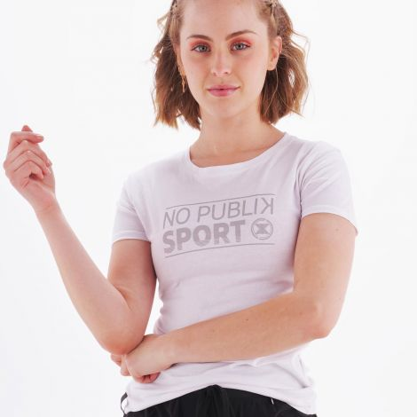 T-shirt amazones blanc face