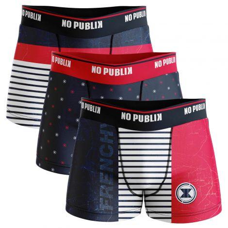 lot de boxers retro frenchy