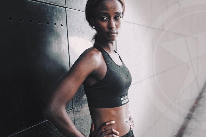 Brassiere sport femme Brooklyn Noire