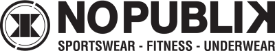 Logo NO PUBLIK Fitness et sous-vêtement
